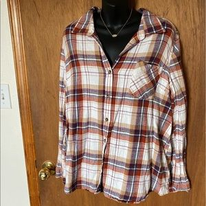 Plaid Button Down Flannel